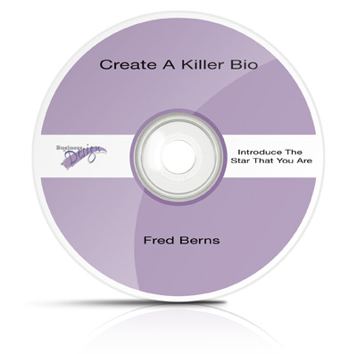 Create a Killer Bio: Introduce the Star that You Are (Audio Download)